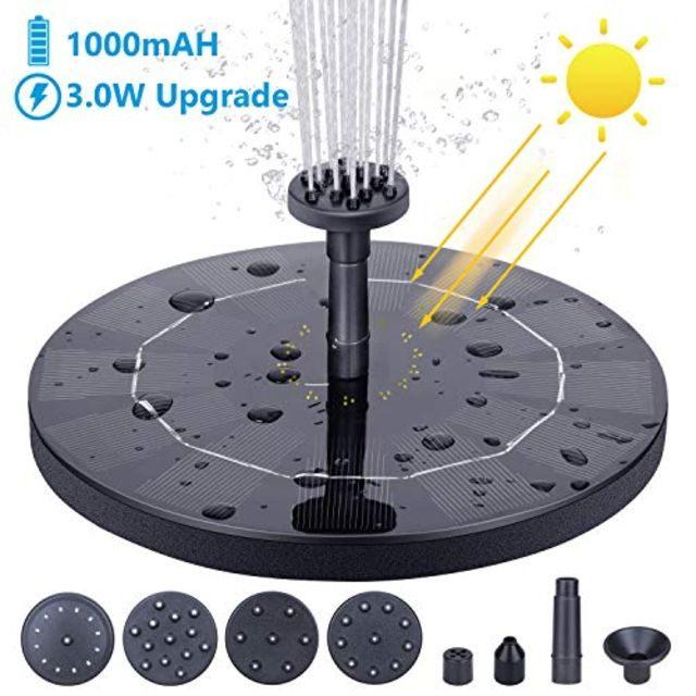 AISITIN 3.0W Solar Fountain Pump