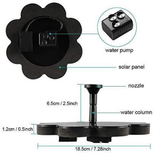 Skywoo Solar Pond Pump