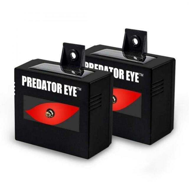 Aspectek Predator Eye Night Time Solar Powered Animal Repeller