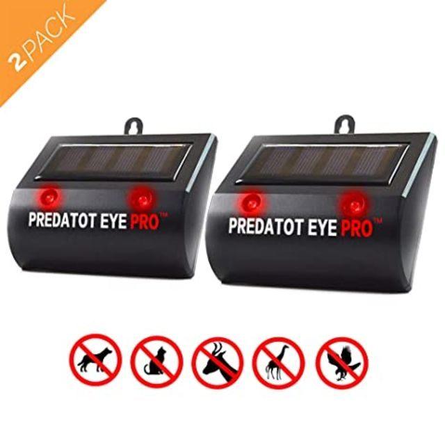 Aspectek Predator Eye PRO Light Deterrent Animal Repeller
