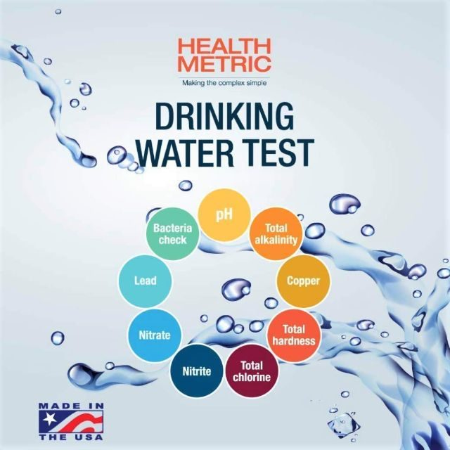Health Metric Drinking-Water Test Kit For Municipal Tap and Well Water