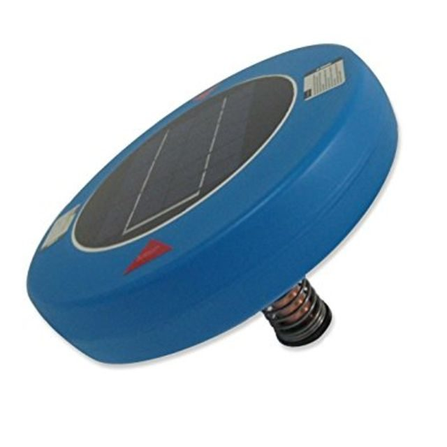 Human Creations Solar-Powered Pool Cleaner And Ionizer