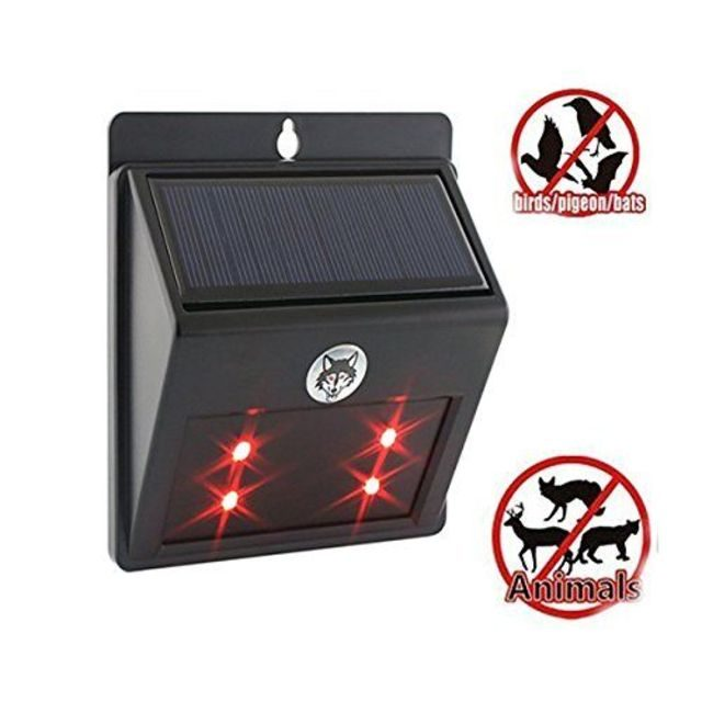 Predator Guard Solar Powered Predator Deterrent Light Animal Repellent