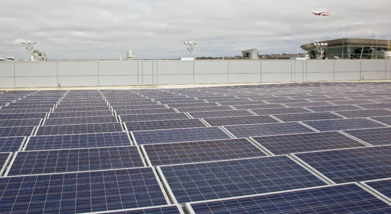 san diego international airport solar farm