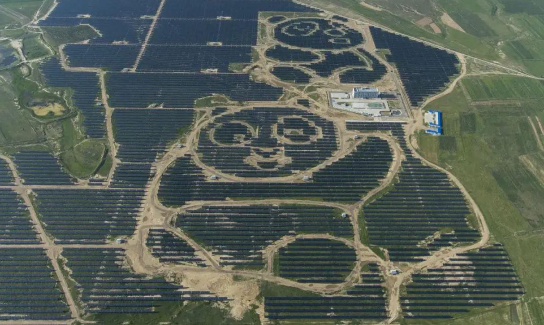 Datong Solar Park, China