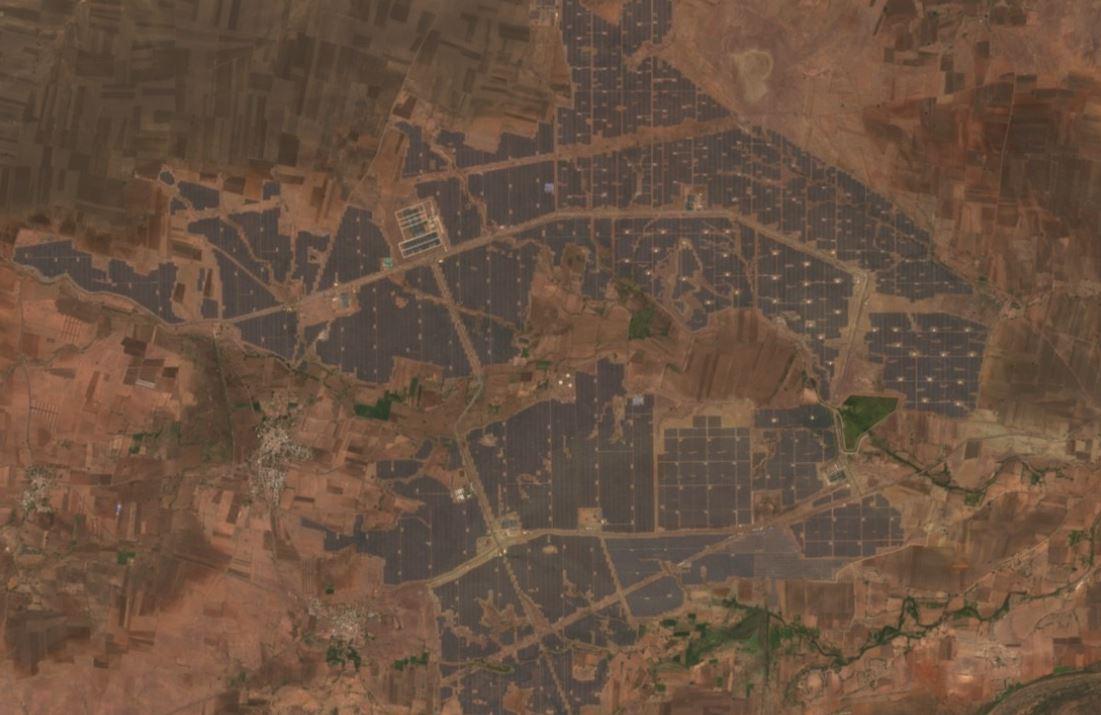 Kurnool Ultra Mega Solar Park in India