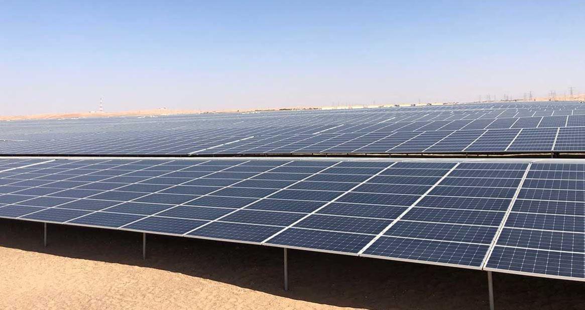 Noor Abu Dhabi-Solar-Generator