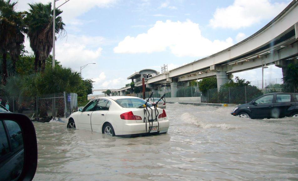 Downtown Miami Flooding