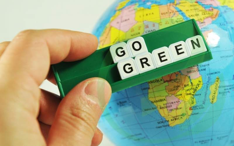 Go green: Make a switch to 100% renewable energy.