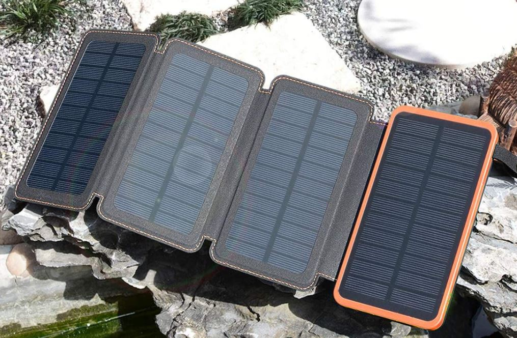 Portable Power Bank powered by Solar