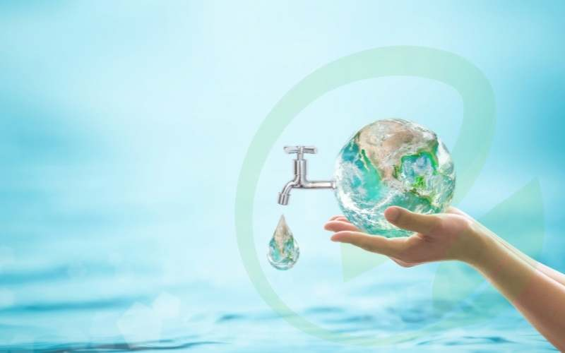 Save water: Every drop counts!