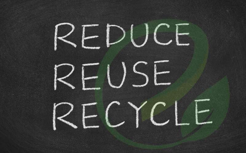 Recycle, reduce and reuse: Cut down on your waste