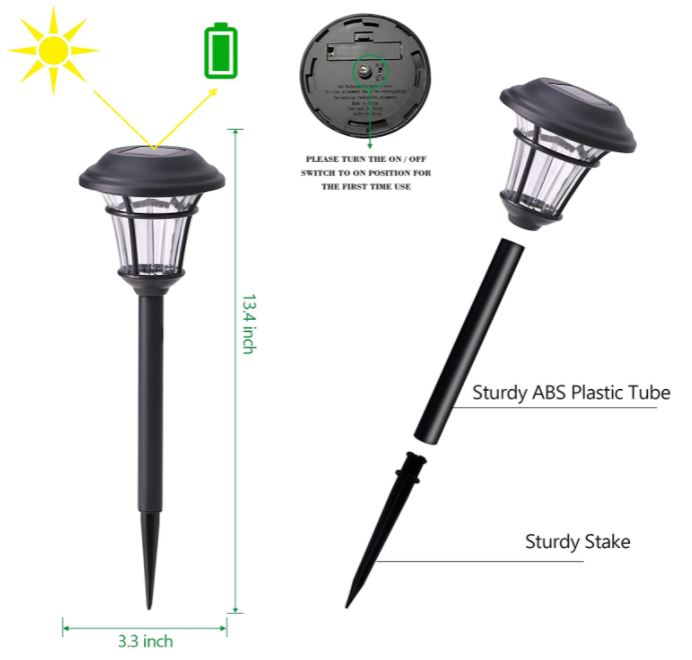 Solar Lights for Pathway