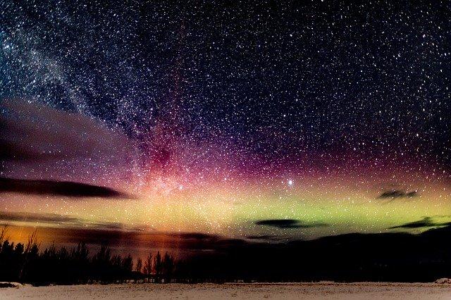 Northern lights - natural wonders