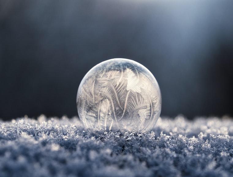 Frozen ball -water facts