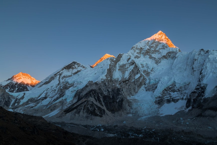 Mountain Everest - natural wonders