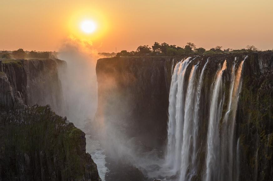 Victoria falls - natural wonders